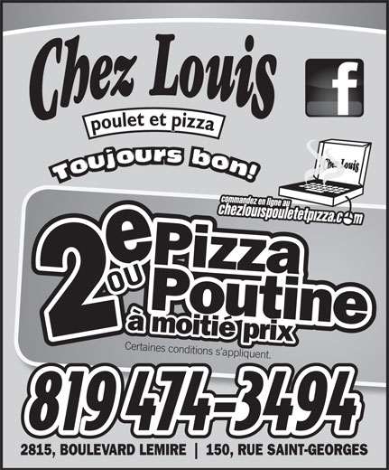 Ads Chez Louis Poulet Et Pizza