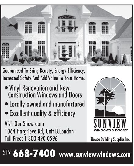 Ads Sunview Windows &amp; Doors
