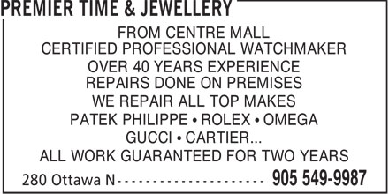 Ads Premier Time & Jewellery
