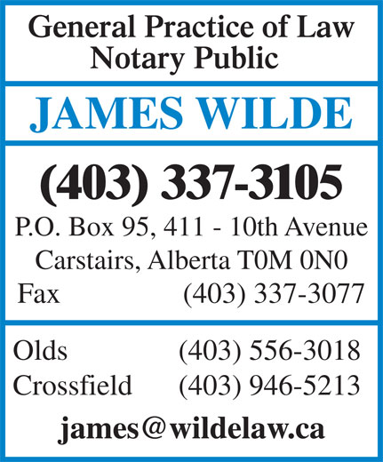 Ads James B Wilde Professional Corp