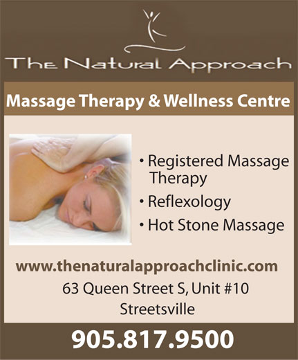 Ads Natural Approach Massage Therapy & Wellness Centre, The