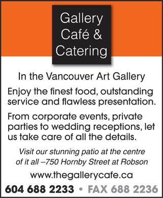 Ads Gallery Cafe &amp; Catering