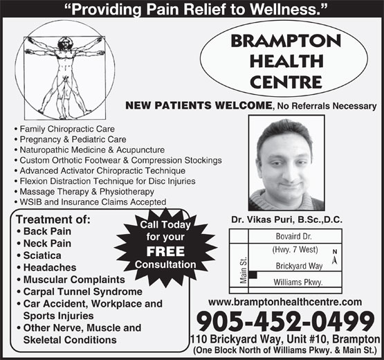 Ads Brampton Health Centre