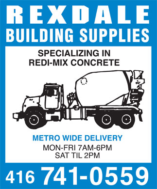 Ads Rexdale Building Supplies