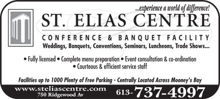 Ads St-Elias Banquet Centre