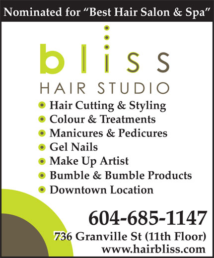 Ads Bliss Hair Studio