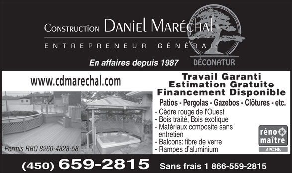 Ads Construction Daniel Maréchal