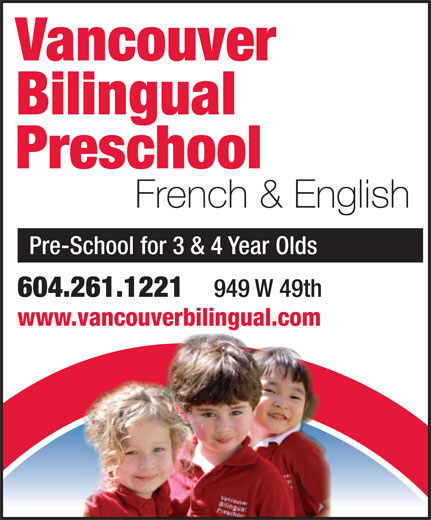 Ads Vancouver Bilingual Preschool