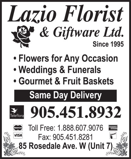 Ads Lazio Florist & Giftware Ltd