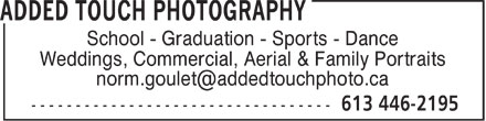 Ads Added Touch Photography