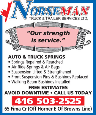 Ads Norseman Truck &amp; Trailer Services Ltd
