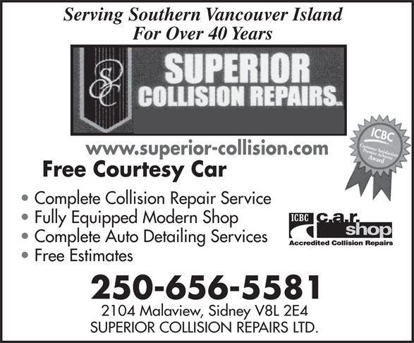 Ads Superior Collision Repairs Ltd