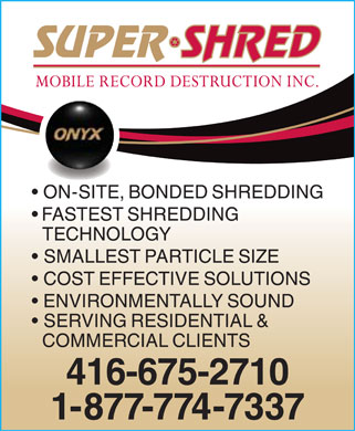 Ads Super-Shred Inc
