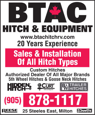 Ads BTAC Hitch & Equipment