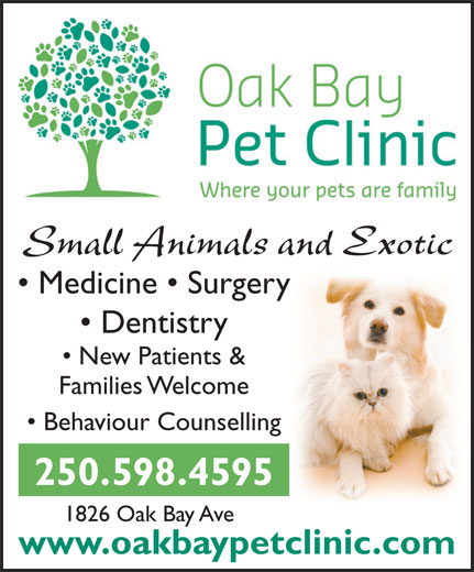 Ads Oak Bay Pet Clinic
