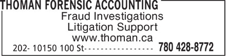 Ads Thoman Forensic Accounting