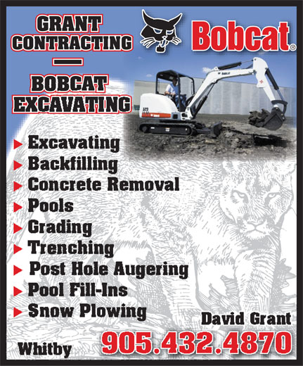 Ads Grant Contracting - Bobcat Excavating