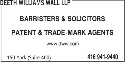 Ads Deeth Williams Wall LLP