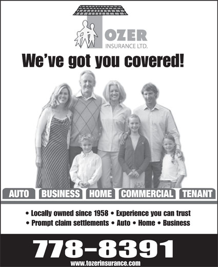 Ads Tozer Insurance Ltd - Facsimile Service