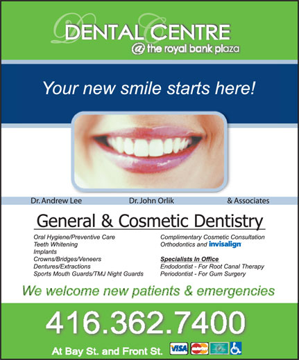Ads Royal Bank Plaza Dental Centre
