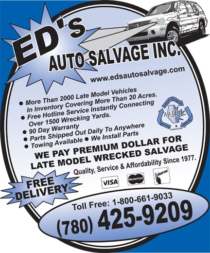 Ads Ed's Auto Salvage Inc
