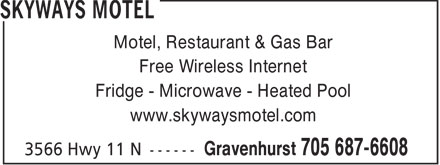 Ads Skyways Motel