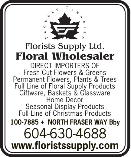 Ads Florists Supply Ltd