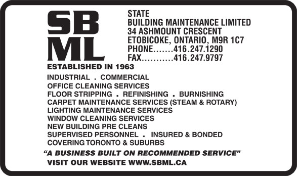 Ads State Building Maintenance Ltd