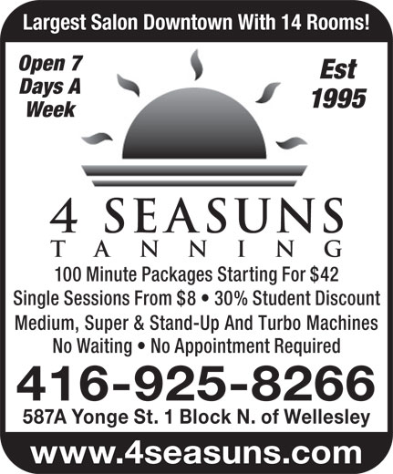 Ads 4 Seasuns Tanning Studio