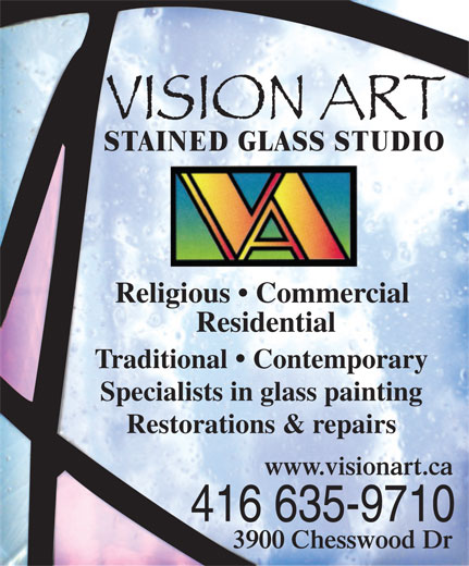 Ads Vision Art Stained Glass Studio
