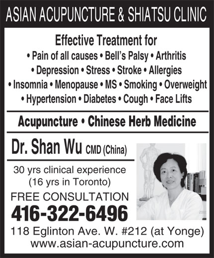 Ads Asian Acupuncture & Shiatsu Clinic