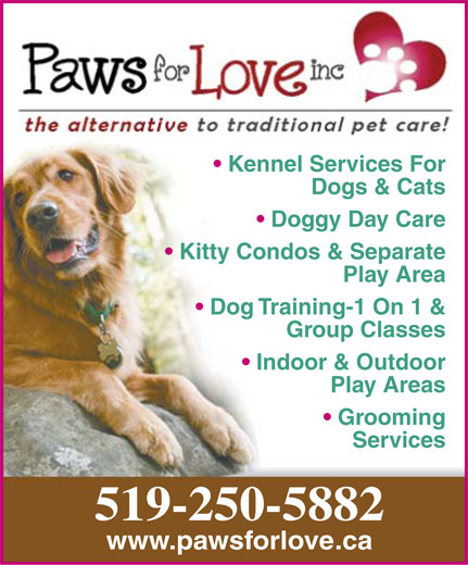 Ads Paws For Love Inc