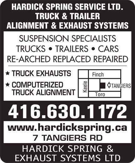 Ads Hardick Spring & Exhaust Systems Ltd