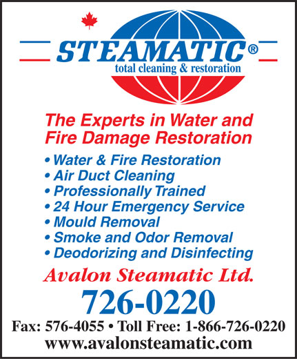Ads Avalon Steamatic Ltd
