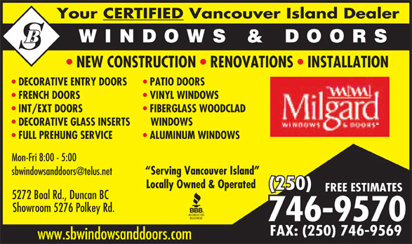 Ads SB Window & Door Ltd