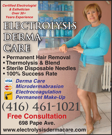 Ads Electrolysis Derma Care