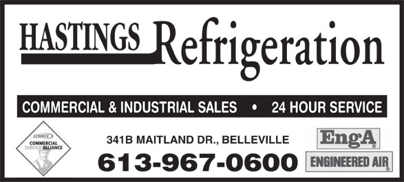 Ads Hastings Refrigeration