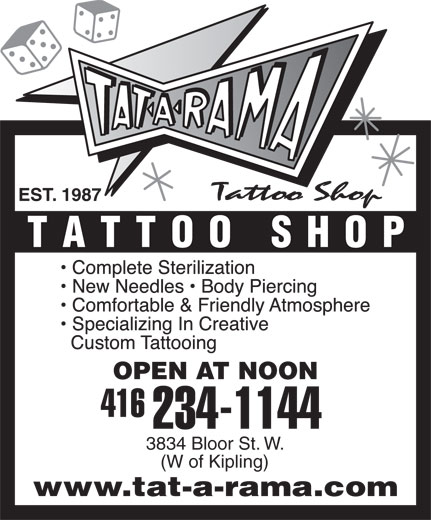 Ads Tattoo Shop