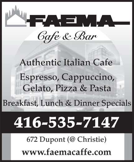 Ads Faema Cafe
