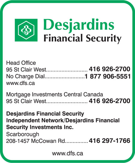 Ads Desjardins Financial Security