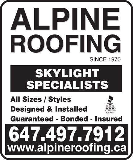 Ads Alpine Roofing