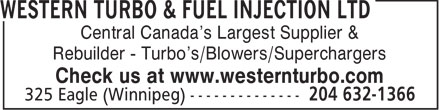Ads Western Turbo & Fuel Injection Ltd