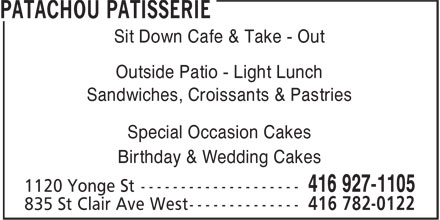 Ads Patachou Patisserie