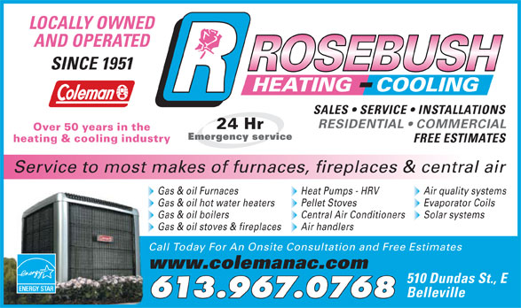 Ads Rosebush Heating &amp; Cooling Ltd