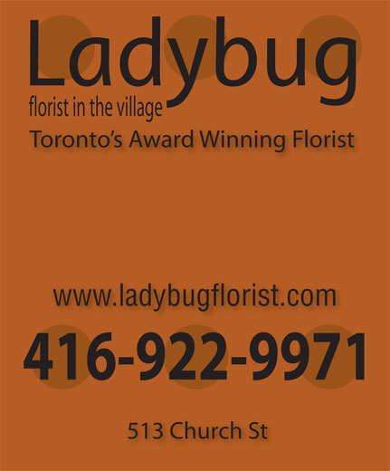 Ads Ladybug Florist In the Village