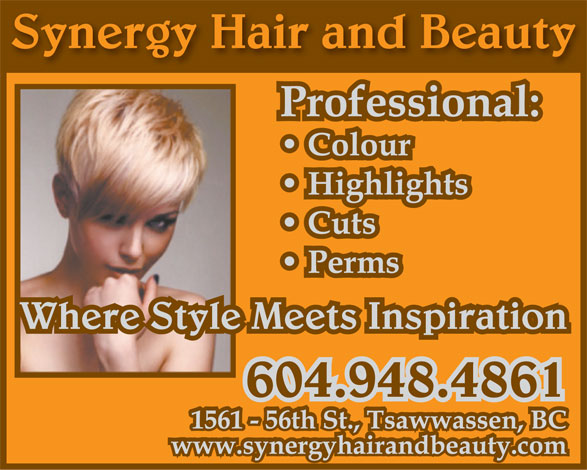Ads Synergy Hair &amp; Beauty