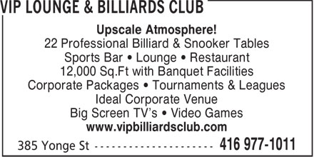 Ads VIP Lounge & Billiards Club