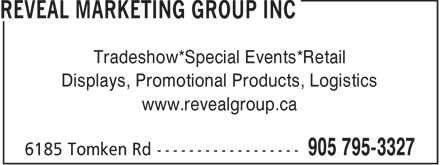 Ads Reveal Marketing Group Inc