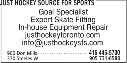 Ads Just Hockey Source For Sports