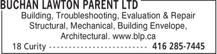 Ads Buchan Lawton Parent Ltd
